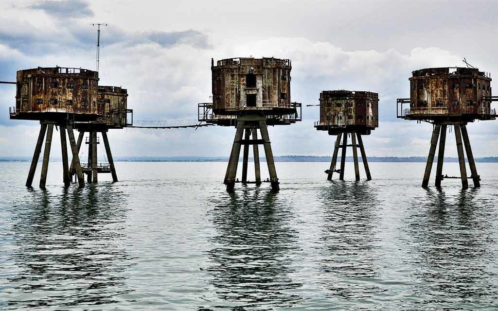 forts maunsell angleterre